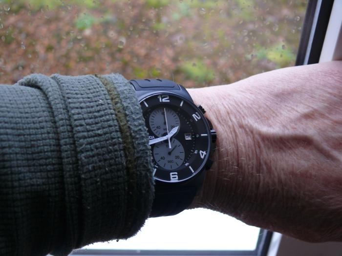 Boccia (Italy) Titanium model B3777-02 Chronograph