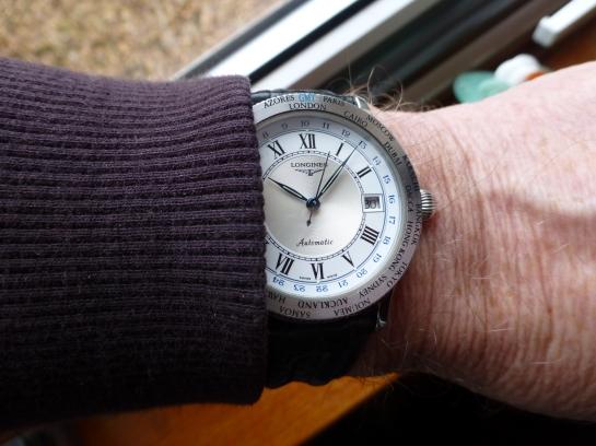 "Longines GMT World Time ""Lindberg"" Automatic"