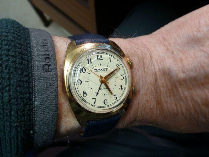 "Poljot ""Signal"" Alarm watch - simple and effective."