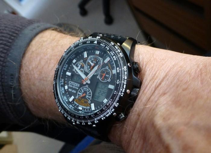 Citizen JY0005-50E Skyhawk with silicon strap