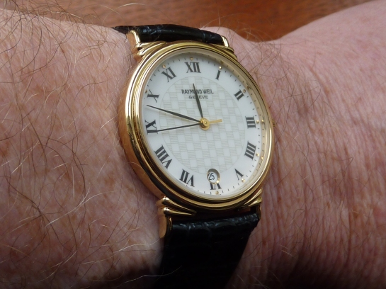 Raymond Weil very thin dress watch