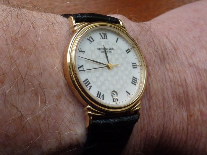 Raymond Weil very thin dress watch