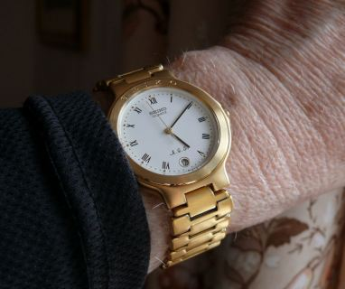 Early Seiko AGS Automatic Generating System watch