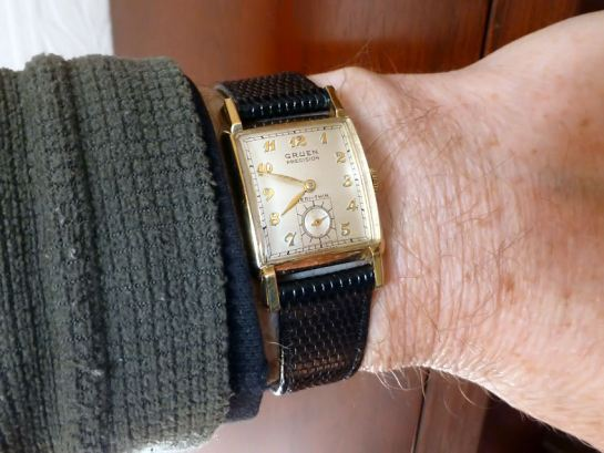 Gruen Veri-Thin 1940's gents watch