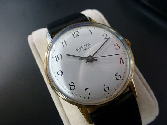 Sekonda 1966-1970 Cal. 2609 Raketa manual wind