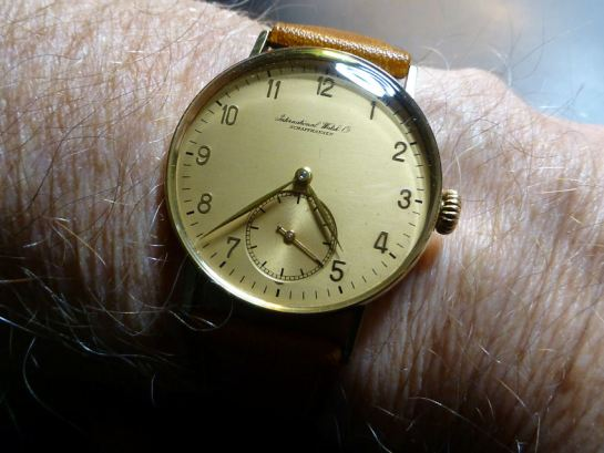 1941 International Watch Co. in 14ct Gold.