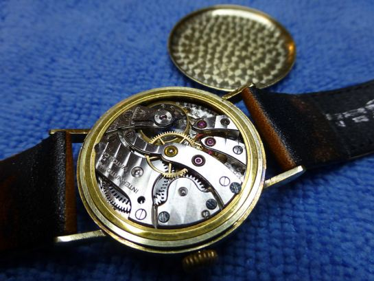 Lovely Cal. 83 manual wind signed International Watch Co movement, showing little signs of age.