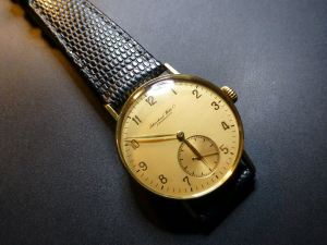 1941/2 International Watch Company Cal.83 to 14kt Case
