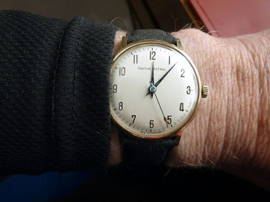At 34mm diameter - a nice size for the wrist.