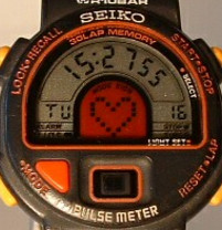 Seiko Pulse Meter watch
