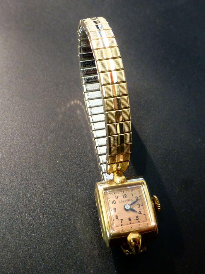 "Longines ""copper"" ladies vintage model"