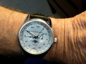 Android Ambassador - a favorite dress watch.