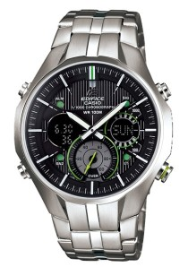 Casio Edifice EFA-135D-1A3V World Timer