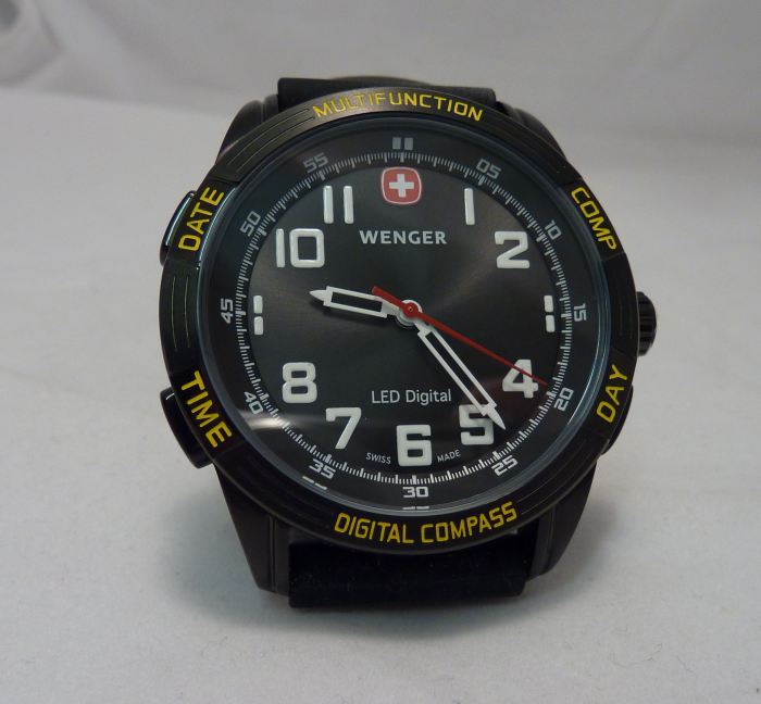 Wenger Patagonian Expedition Race Nomad LED Compass
