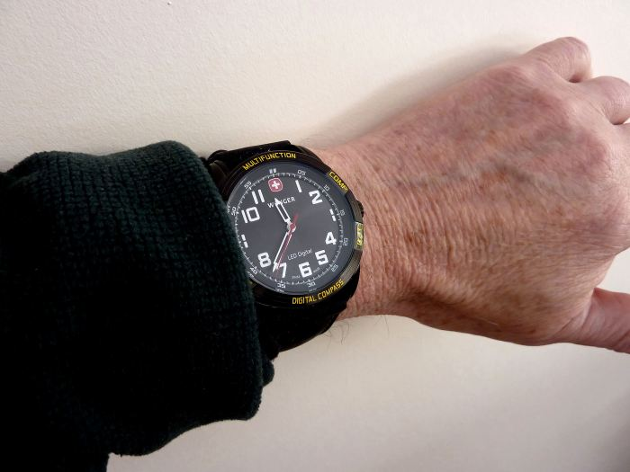 At 43mm Dia & 15.2mm Depth - this is my limit - but very comfortable.