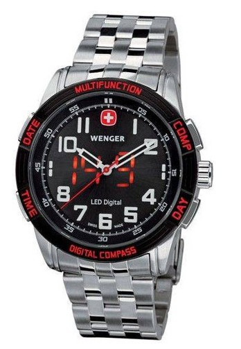 Wenger Nomad LED Compass Watch