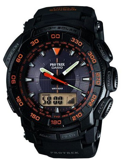 Casio Pro Trek PRG 5501 AER analogue/digital Solar