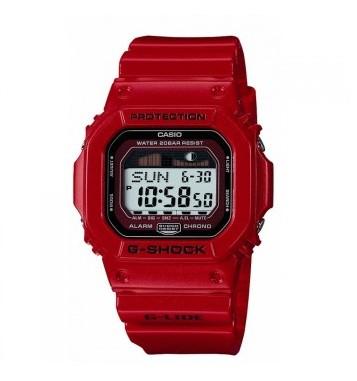 Casio Red G-Lide GLX 5600-4ER - 200m WR Chrono