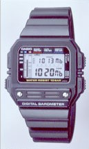 Casio BM-100WJ - the weather predictor.