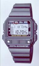 Casio BM-100WJ - the weather predictor.