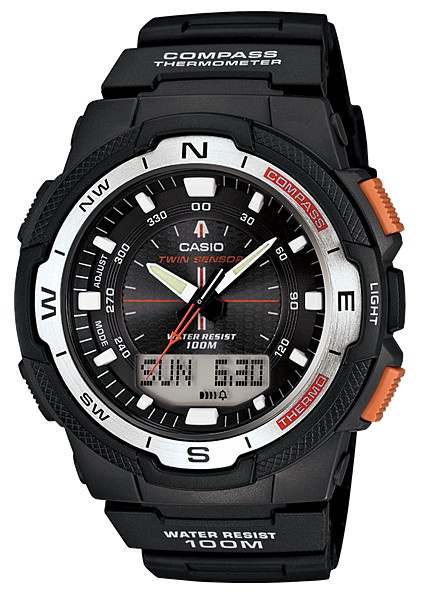 Compass watch - Casio SGW-500H-1BV