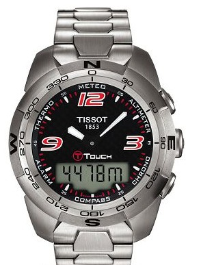 T-Touch Expert Tissot Alarm Chronograph Compass watch