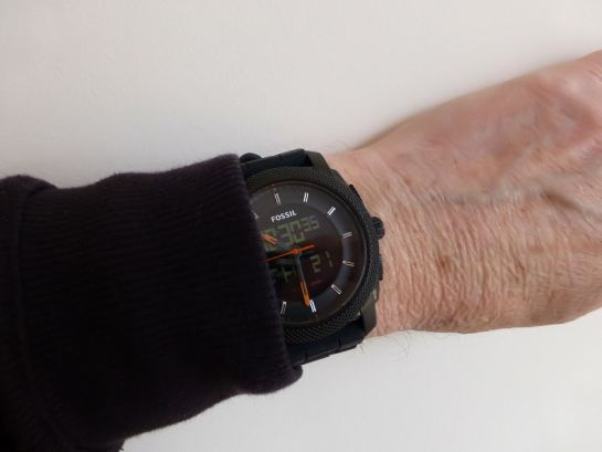 45mm diameter but only 13mm depth - means a neat fit.