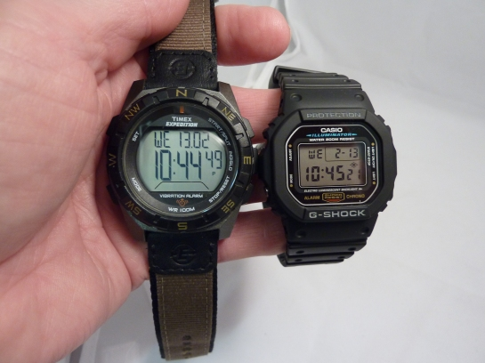 Casio v Timex - a personal choice.