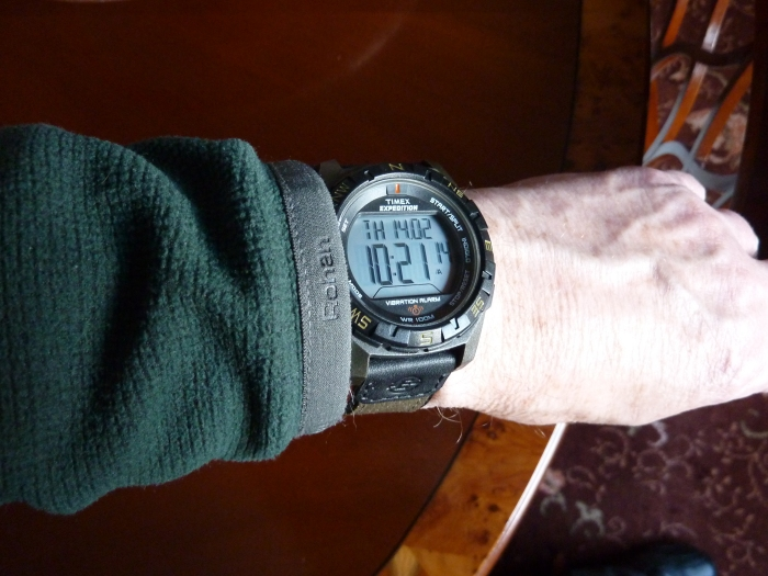 The practical choice - Timex T49854J Expedition, Vibration, Chronograph.