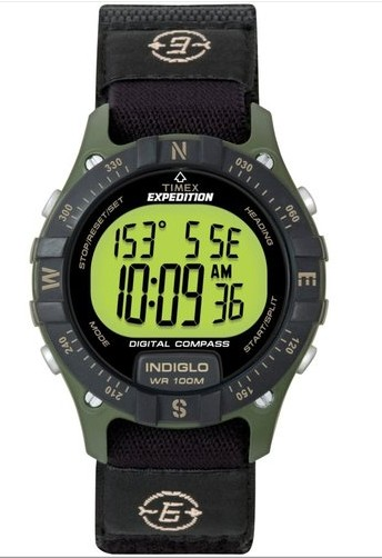Digital Compass with standard strap (not confined to Timex)