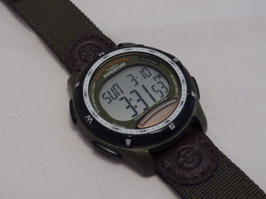Timex Digital Compass on strap - T41261