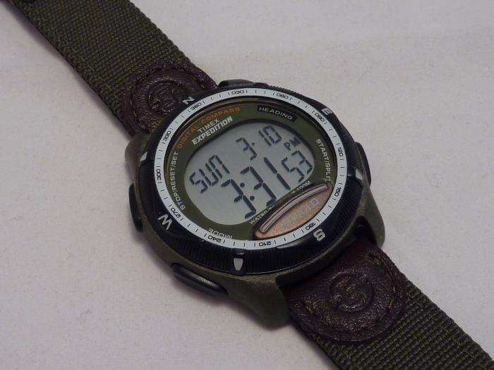 Timex Digital Compass on strap - T41261