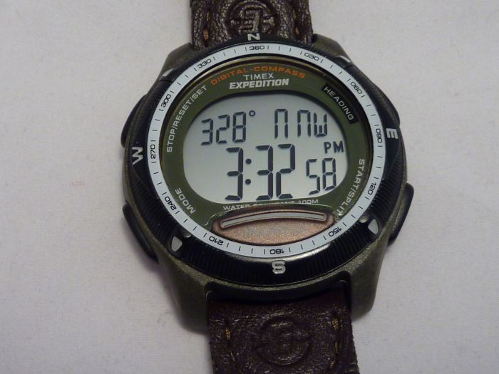 Compass reads headings and bearings of 12 o'clock position.