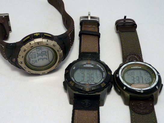 A trio of Timex - and I like them all!
