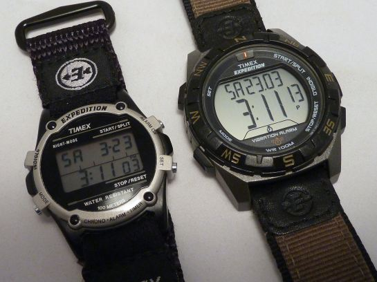 1998 v 2012/13 - watches are getting bigger.