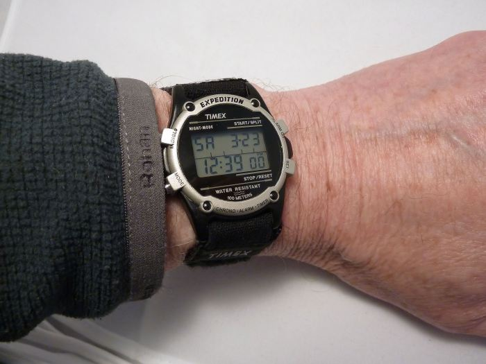 Timex Expedition on the wrist - very neat.