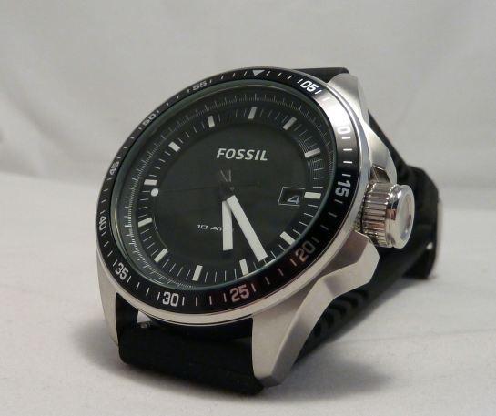 """Fossil """"Decker"""" silicon strap watch AM4384"""