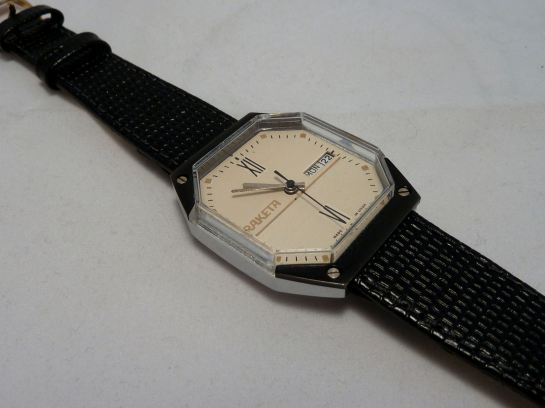 The Raketa Octagonal (my name for it) - unusual, different - I wear it!