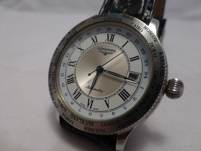 Longines Lindberg GMT World Time