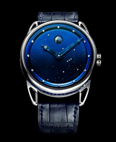 De Bethune DB25, titanium, 122 years moon phase and all the diamonds you want!