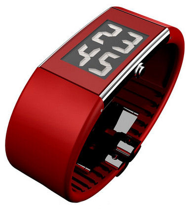 Rosendahl 43108 Red Digital Gents Watch.