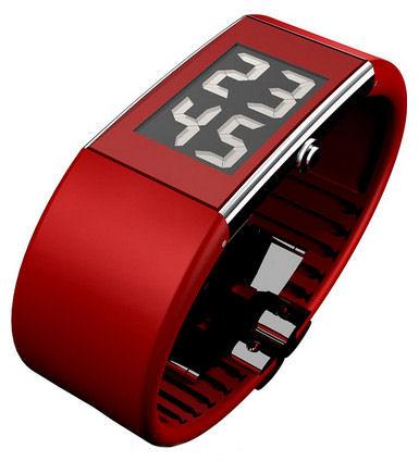 Rosendahl 43108 Red Digital Gents Watch.