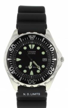 BN000-04H Citizen Divers Eco-Drive