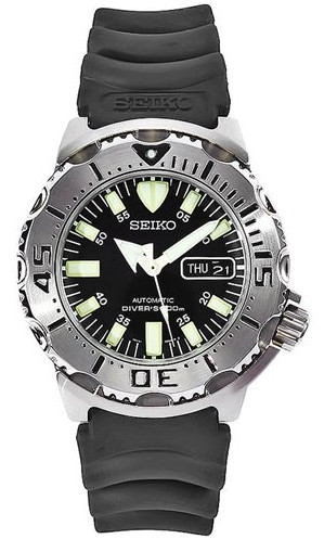 "Seiko ""Monster"" in black"