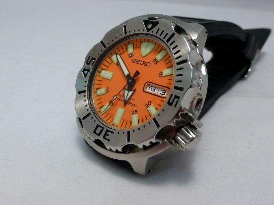 Seiko Diver (Orange Monster)