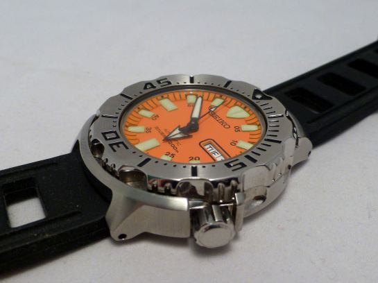 Seiko Monster - looks the part, but only 13mm depth