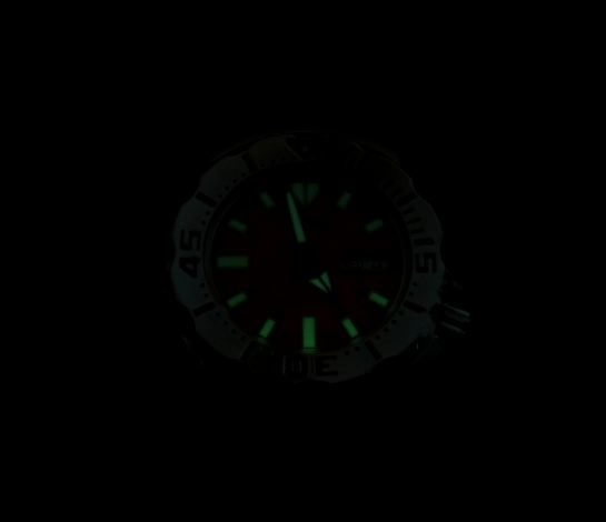 5 am - luminous dial still readable