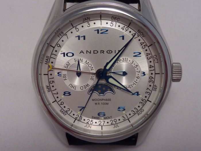 Android Ambassador Triple Date Calendar - with sub-dials
