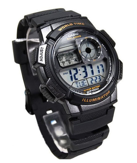 Casio SE1000W-1A World Timer, Alarm Watch