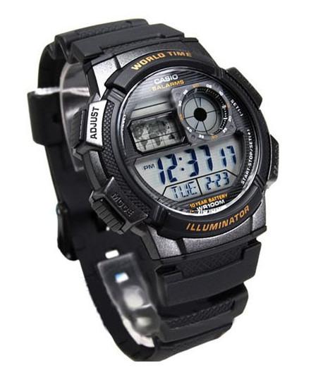 Casio SE1000W-1A World Timer, Alarm Watch
